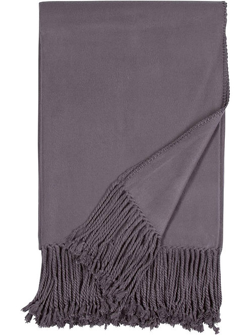 Luxxe Bamboo Fringe Throw