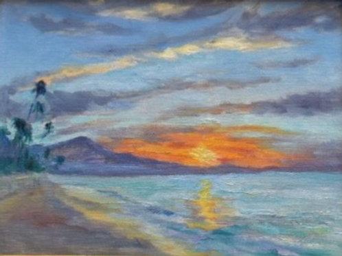 Winter Sunrise by Dorene White