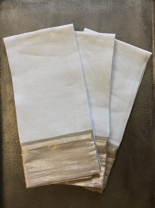 Metallic Tea Towel