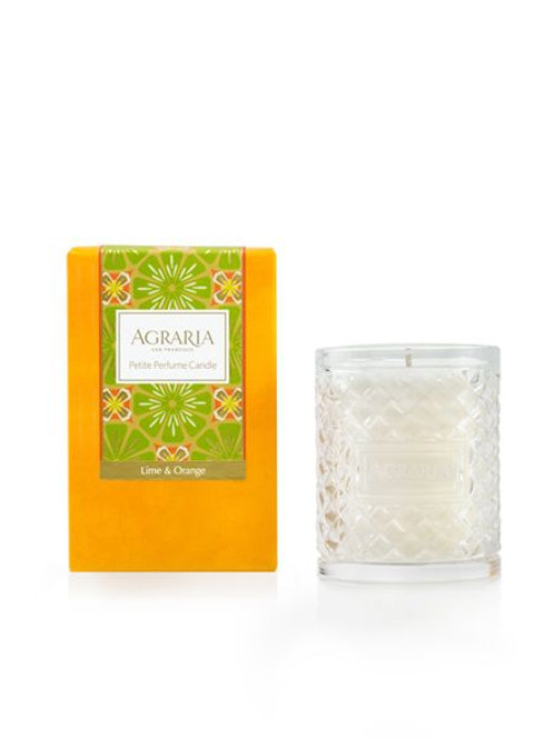 Lime & Orange Scented Petite Crystal Candle