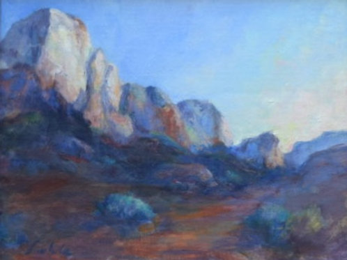 Zion at Dawn By Dorene White