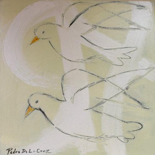Doves By Pedro De La Cruz