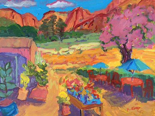 Happy Meadow by Kathleen Elsey