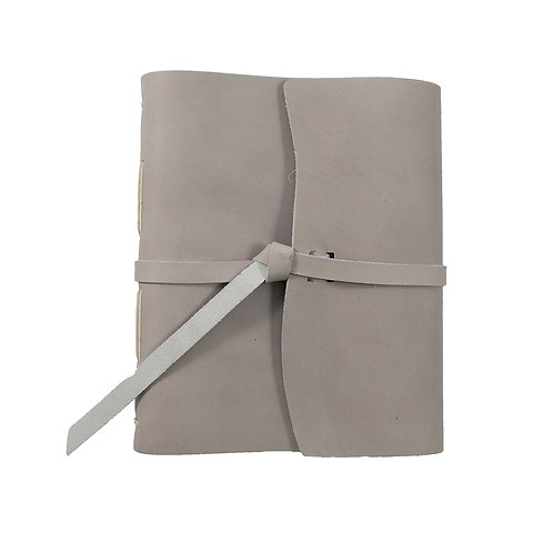 Leather Journal-Gray