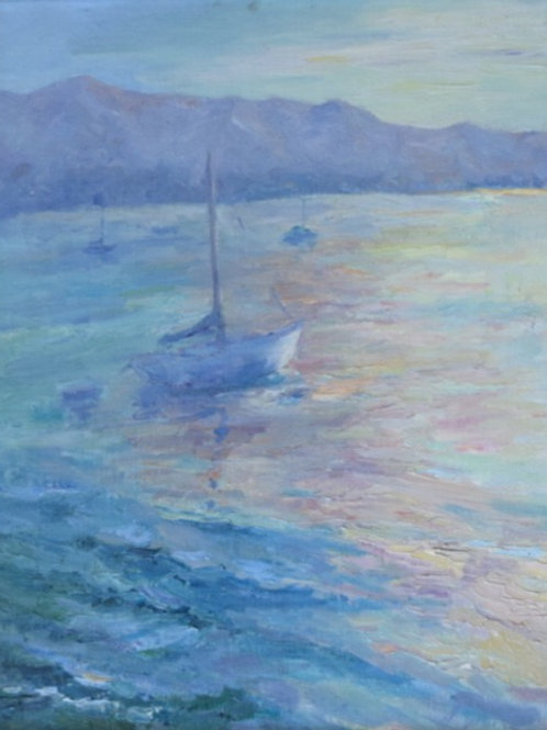 Restful Dawn By Dorene White