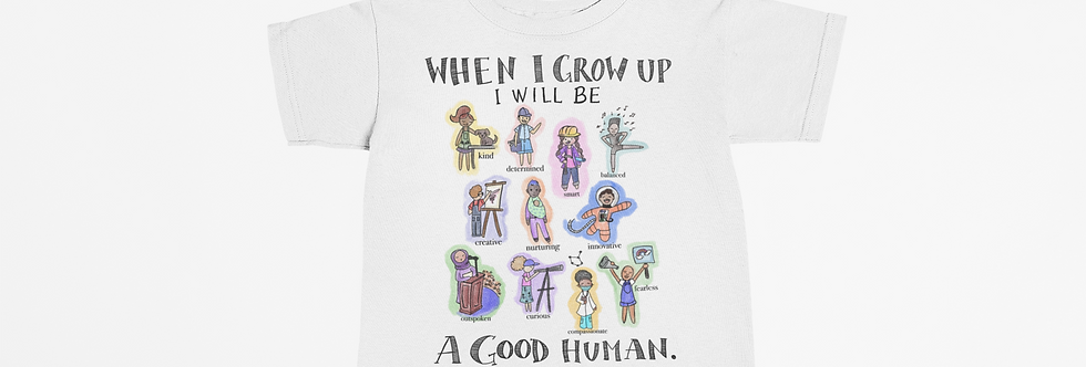 When I Grow Up Youth Tee