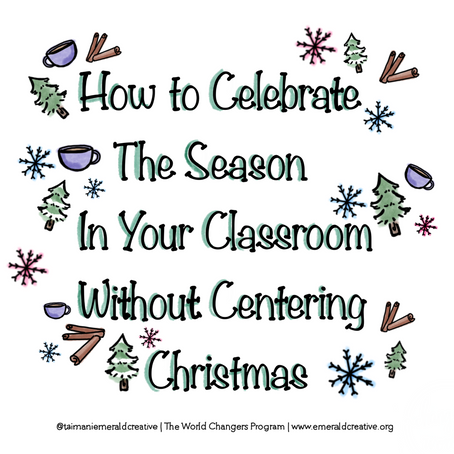 How To Celebrate The Season Without Centering Christmas