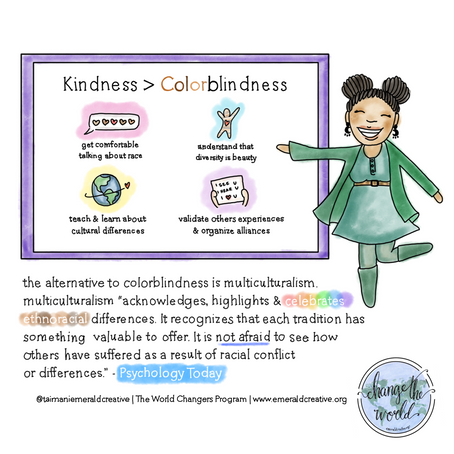 Kindness > Colorblindness