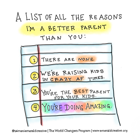 A List Of All The Reasons I'm A Better Parent Than You