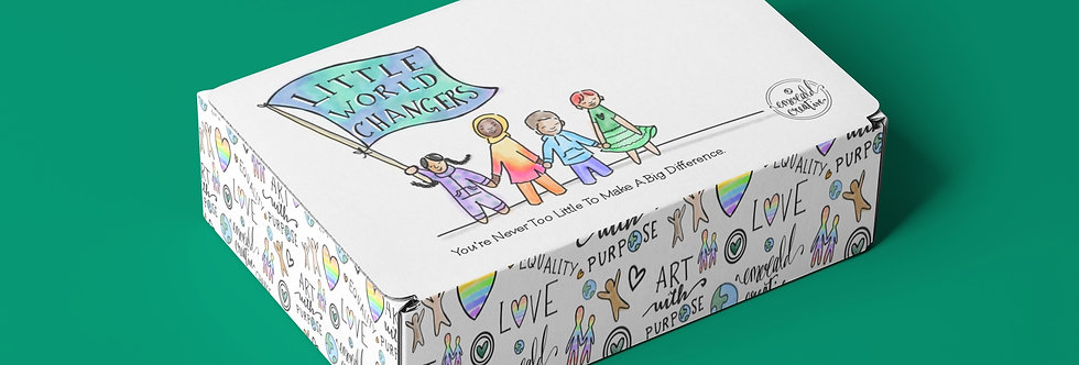 Little World Changers Monthly Learning Box