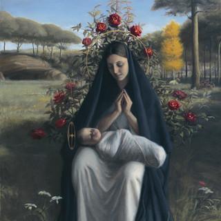 """Finalist """"Madonna of the Roses"""" by Robert Puschautz_"""