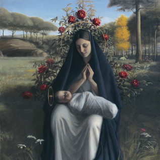 "Finalist ""Madonna of the Roses"" by Robert Puschautz_"
