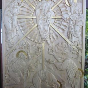 "Transfiguration in Linden. 24"" x 36"""