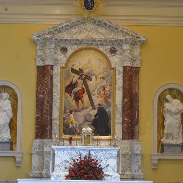 The Immaculate Conception and Saint Joseph