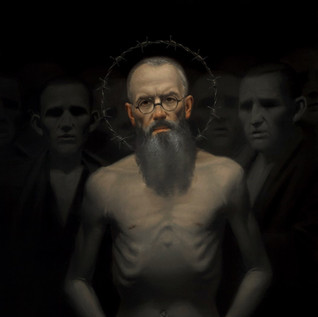 "Honorable Mention, ""St Maximilian Kolbe"" by Neilson Carlin"