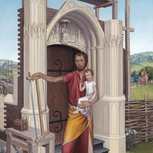 """Finalist, """"St Joseph"""" by Matthew Conner"""