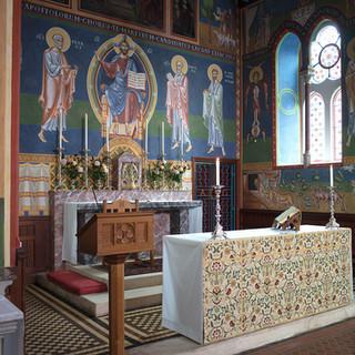 "Martin Earle ""Murals at St. Francis of Assisi (UK)"