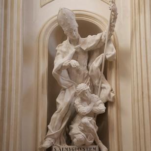 Saint Emygdius Baptizing Polisia
