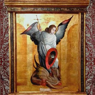 "2nd Prize ""St. Michael"" by David Troncoso"