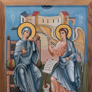 """Honorable Mention """"The Annunciation"""" by Vladimir Grygorenko"""
