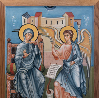 "Honorable Mention ""The Annunciation"" by Vladimir Grygorenko"