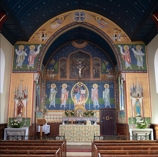 "Martin_EaMartin Earle ""Murals at St. Francis of Assisi (UK)"