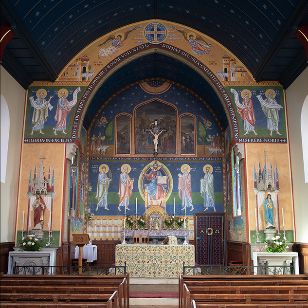 "Martin_EaMartin Earle ""Murals at St. Francis of Assisi (UK)"