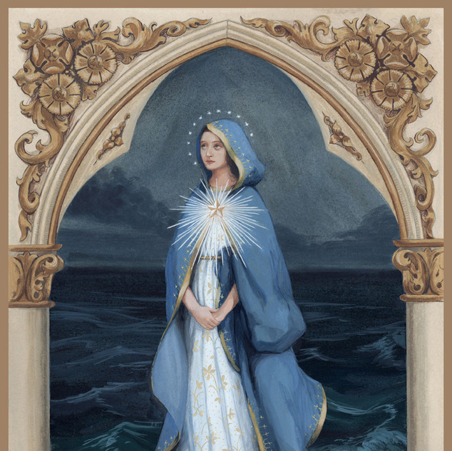 "Finalist ""Mary Star of the Sea"" by Bernadette Carstensen"
