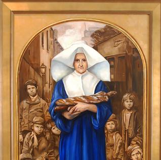 "Finalist  Blessed Sister Rosalie Rendu "" by Patrice Schelkun"