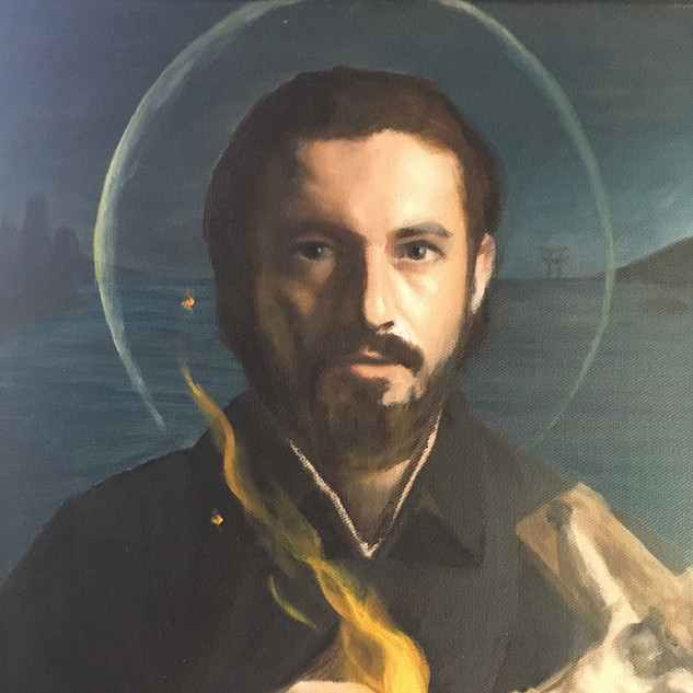 "Finalist ""St Francis Xavier"" by Nathan McDevitt"