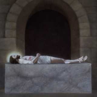 """Finalist """"Jesus is Laid in the Tomb"""" by Sarah Crow"""
