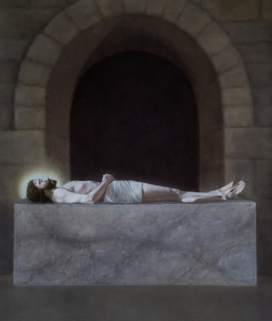 "Finalist ""Jesus is Laid in the Tomb"" by Sarah Crow"