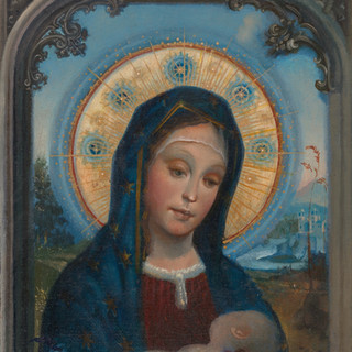 Blessed Mother and Sleeping Child