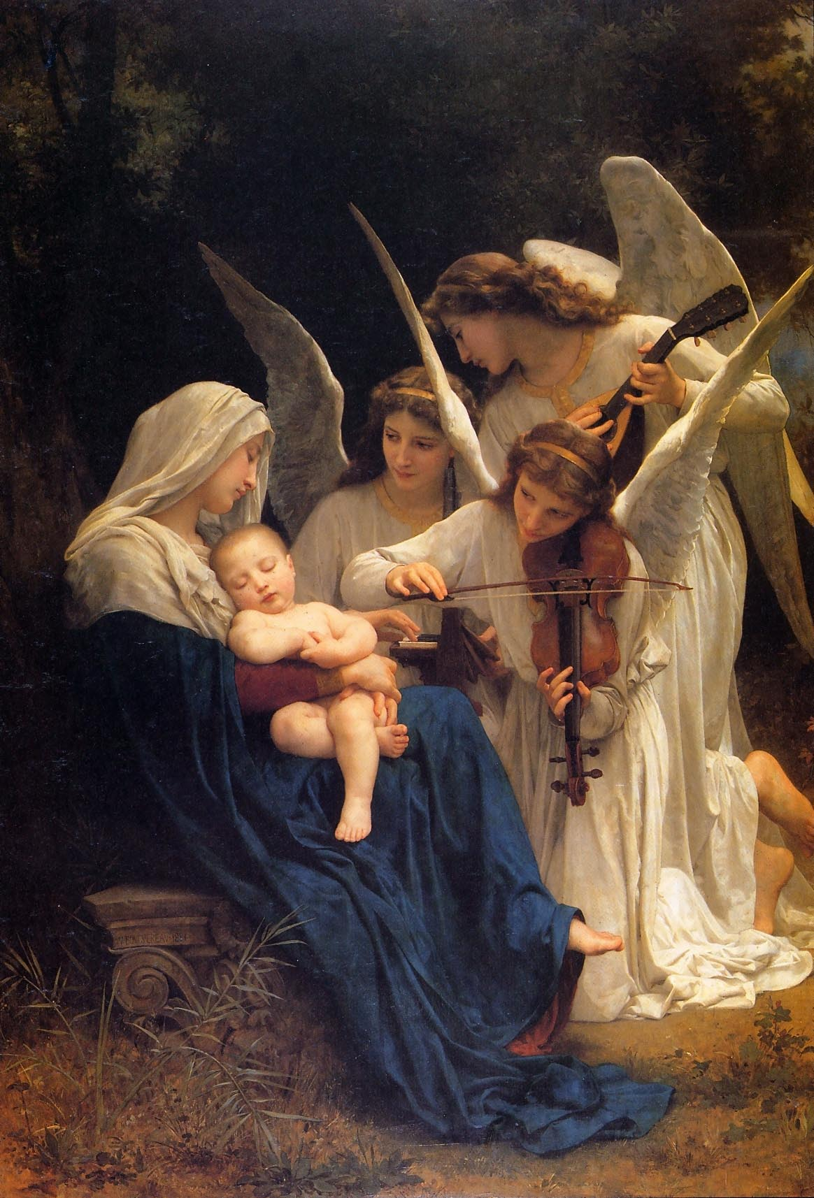Madonna & Child with Angels