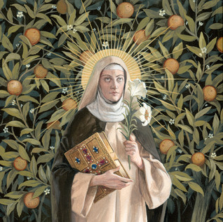 "Finalist ""St Catherine of Siena"" by Bernadette Cartensen"