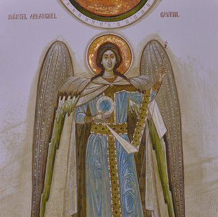 "Finalist ""Archangel Gabriel"" by Elena Murariu"