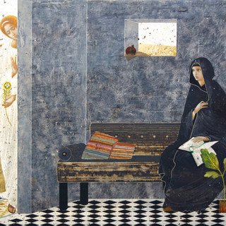 """Honorable Mention """"Annunciation"""" by Ivanka Demchuk"""