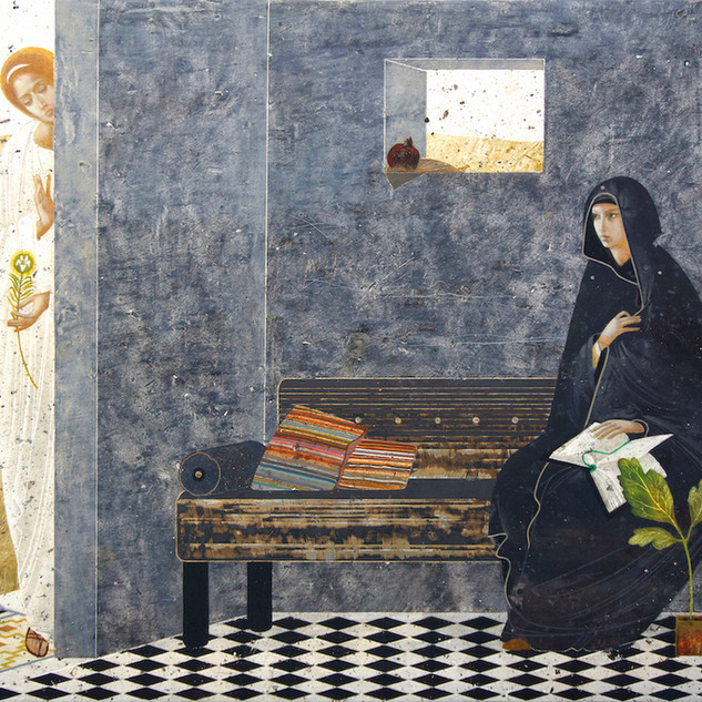 "Honorable Mention ""Annunciation"" by Ivanka Demchuk"