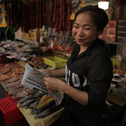 Women's Role in Saigon's Fish Markets