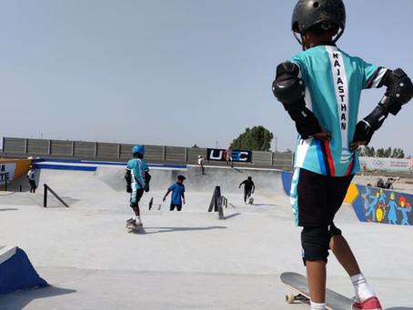 Four Rural Skaters Represent Rajasthan at National Skate Championship