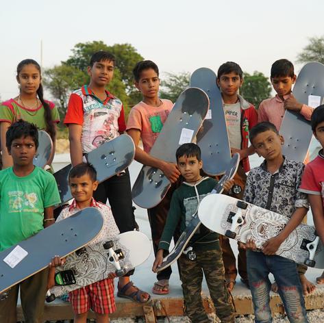 Donate Skateboards