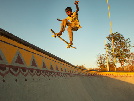 A skatepark in Rajasthan became the central location in Netflix's 'Skater Girl' movie.