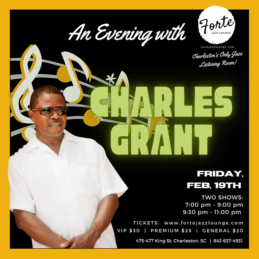 An Evening with Charles Grant | 7:00pm - 9:00pm