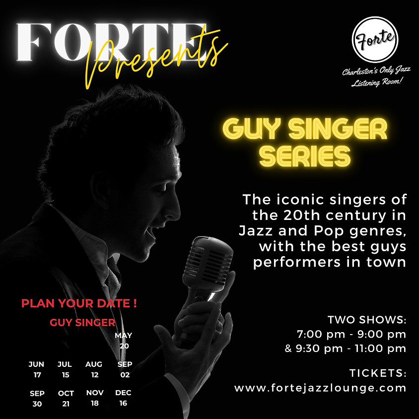 Guy Singer Series  | 9:30pm - 11:00pm