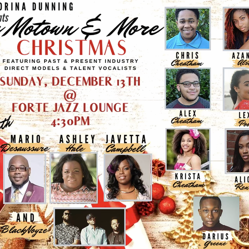 Zandrina Dunning presents A Motown & More Christmas