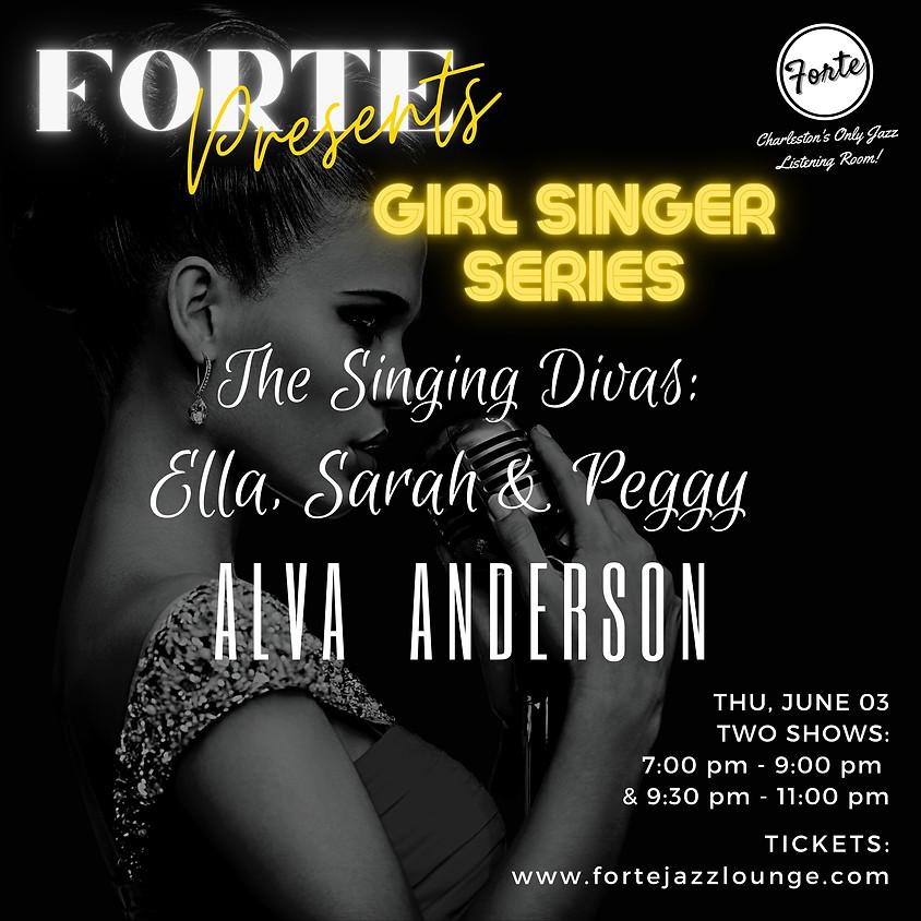 Girl Singer Series presents: Singing Divas - Ella, Sarah and Peggy  | 9:30pm - 11:00pm