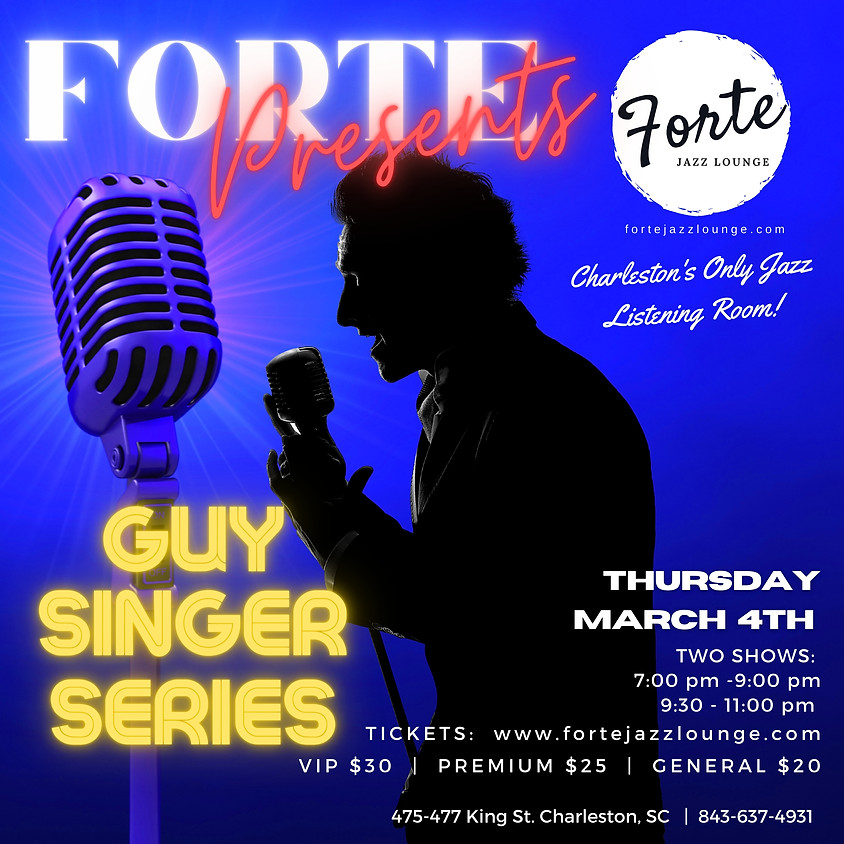 Guy Singer Series | 9:30pm - 11:00pm (1)