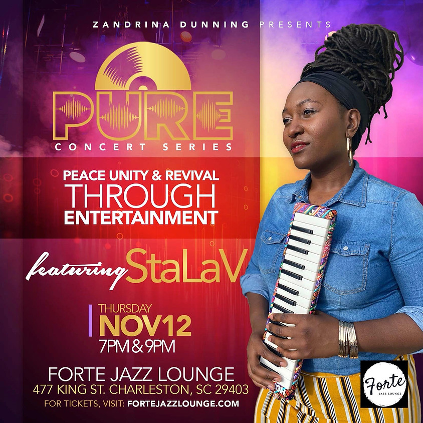 Pure Concert Series: StaLaV | 7:00pm