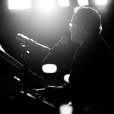 Forte Jazz Club opening night event. Local vocalist Joe Clarke performing live. Located in downtown Charleston.