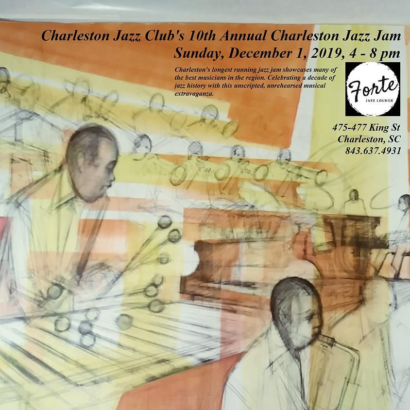 Charleston Jazz Jam - Celebrating 10 years